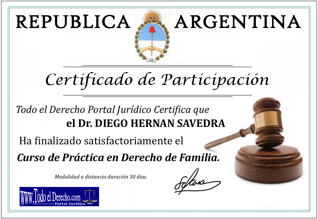 Solicite su certificado